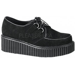 Black Suede Womens Creeper LABEShops Home Decor, Fashion and Jewelry