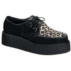Leopard Print Mens Creeper Loafer LABEShops Home Decor, Fashion and Jewelry