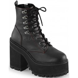 Assault Block Heel Womens Combat Boot LABEShops Home Decor, Fashion and Jewelry