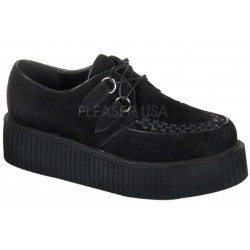 Black Suede Mens Creeper Loafer LABEShops Home Decor, Fashion and Jewelry