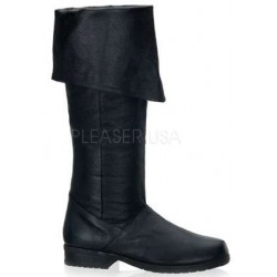 Maverick Unisex Flat Knee High Pirate Boot LABEShops Home Decor, Fashion and Jewelry