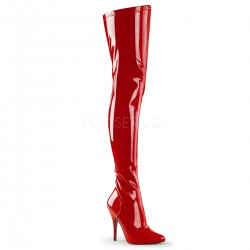 Seduce Red High Heel Thigh High Boots LABEShops Home Decor, Fashion and Jewelry Direct to You