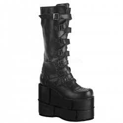 Mens Extreme Platform Knee Boot with Lace Up Strap LABEShops Home Decor, Fashion and Jewelry