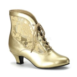 Victorian Dame Gold Ankle Boot LABEShops Home Decor, Fashion and Jewelry
