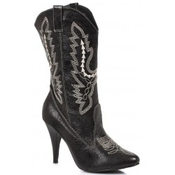 Black Scrolled Cowgirl Boots LABEShops Home Decor, Fashion and Jewelry