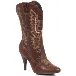 Brown Scrolled Cowgirl Boots LABEShops Home Decor, Fashion and Jewelry