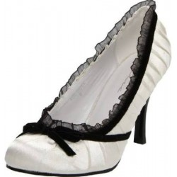 Satin Doll White High Heel Pump LABEShops Home Decor, Fashion and Jewelry