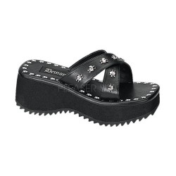 Flip Skull Studded Platform Gothic Sandal LABEShops Home Decor, Fashion and Jewelry