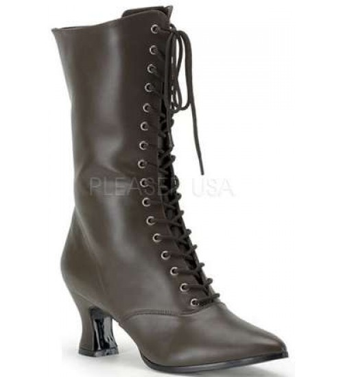 Brown Victorian Ankle Boot at LABEShops, Home Decor, Fashion and Jewelry