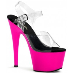 Neon Pink Platform Adore High Heel Sandals LABEShops Home Decor, Fashion and Jewelry