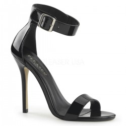 Amuse Black Ankle Strap Sandal LABEShops Home Decor, Fashion and Jewelry