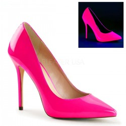 Amuse Neon Fuchsia 5 Inch High Heel Pump LABEShops Home Decor, Fashion and Jewelry