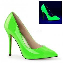 Amuse Neon Green 5 Inch High Heel Pump LABEShops Home Decor, Fashion and Jewelry