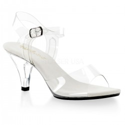 Belle Clear Peep Toe Sandal LABEShops Home Decor, Fashion and Jewelry