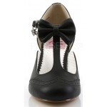 Flapper Black T-Strap Bow Pump at LABEShops, Home Decor, Fashion and Jewelry