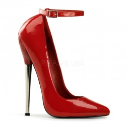 Dagger Red Extreme Heel Ankle Strap Pump LABEShops Home Decor, Fashion and Jewelry