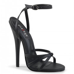 Black Domina High Heel Sandal