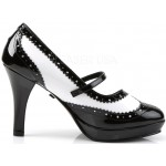 Contessa 4 Inch Heel Mary Jane Spectator Pump at LABEShops, Home Decor, Fashion and Jewelry