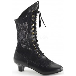 Victorian Dame Black Lace Boot LABEShops Home Decor, Fashion and Jewelry