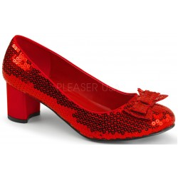 Dorothy Red Sequin 2 Inch Heel Pump LABEShops Home Decor, Fashion and Jewelry