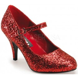 Glinda Red Glittered Mary Jane Pump LABEShops Home Decor, Fashion and Jewelry