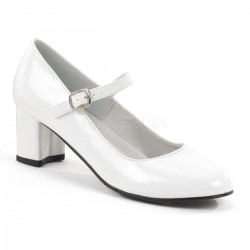 Schoolgirl White Mary Jane Pump LABEShops Home Decor, Fashion and Jewelry