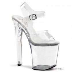 Clear Xtreme 8 Inch High Platform Sandal LABEShops Home Decor, Fashion and Jewelry