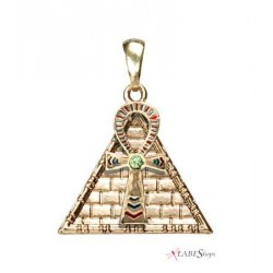 Ankh Pyramid Egyptian Necklace LABEShops Home Decor, Fashion and Jewelry