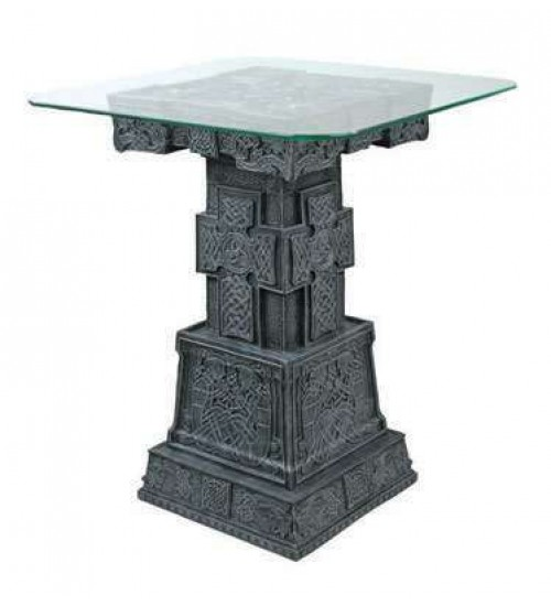 Celtic Cross Side Table at LABEShops, Home Decor, Fashion and Jewelry