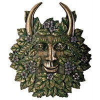Greenman Spring Wall Plaque
