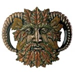 Greenman Fall Wall Plaque at LABEShops, Home Decor, Fashion and Jewelry