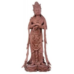 Yixing Kuan Yin Statue LABEShops Home Decor, Fashion and Jewelry