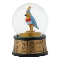 Horus Falcon God Egyptian Water Globe