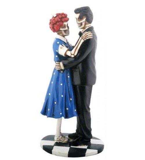 Endless Love 50s Style Skeletal Statue