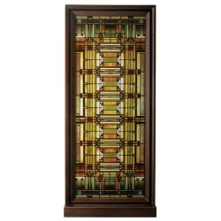 Frank Lloyd Wright Oak Park Skylight Art Glass Panel LABEShops Home Decor, Fashion and Jewelry