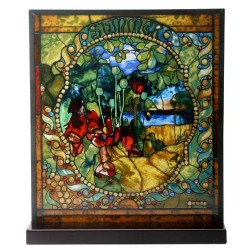 Tiffany Summer Art Stained Glass Window Reproduction LABEShops Home Decor, Fashion and Jewelry