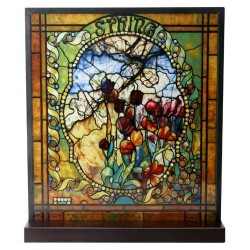 Tiffany Spring Art Stained Glass Window Reproduction LABEShops Home Decor, Fashion and Jewelry
