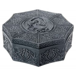 Celtic Dragon Octagonal Box LABEShops Home Decor, Fashion and Jewelry