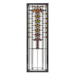 Barton House Buffet Door Frank Lloyd Wright Stained Glass Art LABEShops Home Decor, Fashion and Jewelry