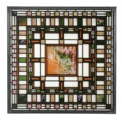 Frank Lloyd Wright D.D. Martin House Stained Glass Art LABEShops Home Decor, Fashion and Jewelry