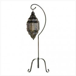 Moroccan Candle Lantern with Stand LABEShops Home Decor, Fashion and Jewelry