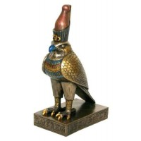 Horus Falcon Egyptian God 8.5 Inch Statue