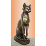 Bastet 8 Inch Bronze Finished Statue at LABEShops, Home Decor, Fashion and Jewelry