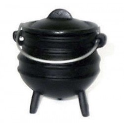 Cast Iron Mini Potjie Cauldron - 8 Oz LABEShops Home Decor, Fashion and Jewelry