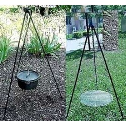 Heavy Duty Camping Tripod for Potjie Stew Pots LABEShops Home Decor, Fashion and Jewelry