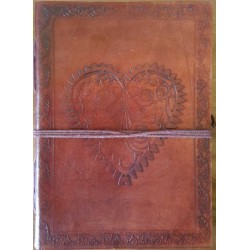 Heart Leather Journal LABEShops Home Decor, Fashion and Jewelry