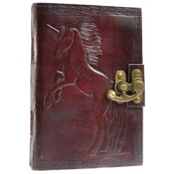Unicorn Leather 7 Inch Journal with Latch