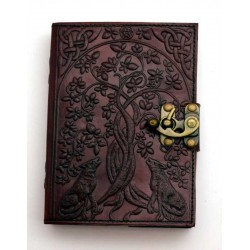 Wolf Tree Leather 7 Inch Journal with Latch