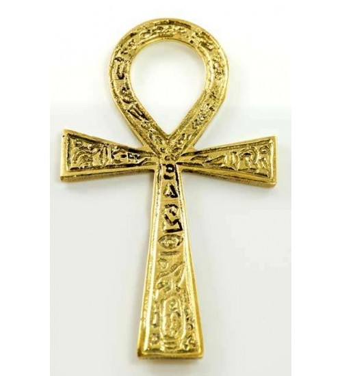 Ankh - Small Brass Egyptian Ankh 4 Inches