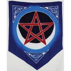 Pentacle Moon Pennant LABEShops Home Decor, Fashion and Jewelry